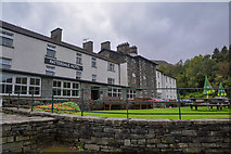 NY3915 : Patterdale : Patterdale Hotel by Lewis Clarke