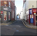 SO5012 : No Entry signs, St John's Street, Monmouth by Jaggery