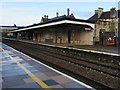 SO8405 : Stroud railway station canopy by Jaggery