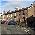 SO2914 : Row of stone houses, North Street, Abergavenny by Jaggery