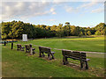 SK6267 : Edwinstowe cricket ground by Phil Champion