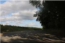 TL4138 : Little Chishill Road, Shaftenhoe End by David Howard