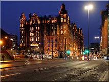 SJ8397 : Manchester, The Midland Hotel by David Dixon