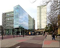 NZ2564 : John Dobson Street, Newcastle upon Tyne by Andrew Curtis