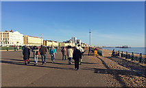 TQ2904 : Esplanade, Hove by Stephen Richards