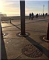 TQ3003 : Plaque, Esplanade, Brighton by Stephen Richards