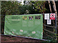 SK6267 : Temporary fencing across path in Sherwood Forest by Phil Champion