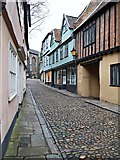 TG2308 : Elm Hill, Norwich by David Hallam-Jones