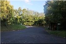 TL4427 : Staggered junction in Barleycroft End by David Howard