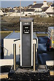 NX3343 : Electric Vehicle Charging Point, Port William by Billy McCrorie