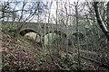 SJ7742 : Public footpath bridge over disused railway lines by Brian Deegan
