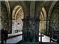 SY9675 : Interior of St Aldhelm's Chapel by Phil Champion