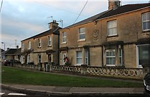 ST8769 : Houses on Cleevedale Road, Corsham by David Howard