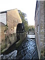 TQ2668 : Mill wheel, Morden Hall Park by Malc McDonald