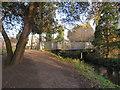 TQ2667 : Bridge on the Wandle Trail, near Mitcham by Malc McDonald