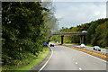 NS3431 : A78, Old Loans Road Bridge by David Dixon