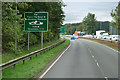 NS3628 : Northbound A78 near Monkton by David Dixon