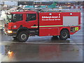 NT1473 : Edinburgh Airport - Fire and Rescue Service vehicle by M J Richardson