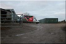 ST9169 : White Hall Farm, Lacock by David Howard