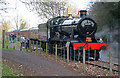 SK3900 : Wightwick Hall running round at Shenton Station by Chris Allen