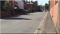 SS9512 : Tiverton : Leat Street by Lewis Clarke