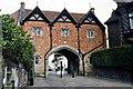 SO7745 : Abbey Gateway, Abbey Road, Great Malvern by Jo Turner