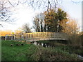 TQ2766 : Bridge over the River Wandle near St Helier by Malc McDonald