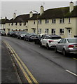 ST3089 : Line of cars, Blaen-y-pant Crescent, Newport by Jaggery