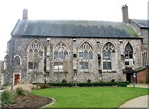 TG2309 : The Great Hospital - St Helen (chancel) by Evelyn Simak