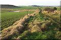 NU2522 : Coast path at The Due by Derek Harper