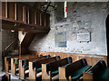 SZ0382 : Pews in the nave - Church of St Nicholas, Studland by Phil Champion