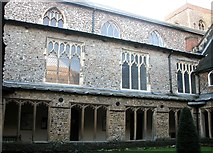 TG2309 : St Helen Bishopgate - the north aisle by Evelyn Simak