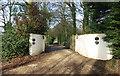 SP8605 : Entrance to Dunsmore Park by Des Blenkinsopp