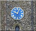 TM2866 : World War Two Memorial clock, Dennington by Adrian S Pye