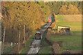 NU0414 : Farm vehicles near Branton Middle Steads by Derek Harper