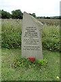 TL8555 : Memorial to Pilot Officer (Pilot) van Mesdag by Adrian S Pye