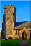 ST2214 : Otterford : St Leonard's Church by Lewis Clarke