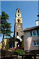 SH5837 : The Bell Tower at Portmeirion by Jeff Buck