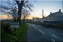 ST2112 : Churchinford : Road by Lewis Clarke