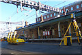 ST3088 : Track replacement equipment (2), Newport Station by Robin Drayton