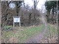 TQ2758 : Path onto Park Downs, near Chipstead by Malc McDonald