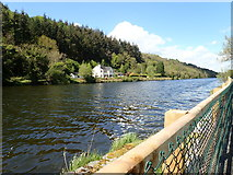 J1021 : View WNW towards houses between the Newry Canal and Fathom Forest by Eric Jones