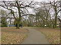 SE2527 : Dartmouth Park. Morley - paths and trees by Stephen Craven