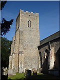 TM1469 : Thorndon All Saints, All Saints by Dave Kelly