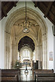 SP1039 : St Peter, Willersey - Sanctuary by John Salmon
