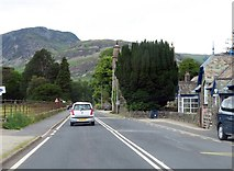 NY3916 : The A592 in Patterdale by Steve Daniels