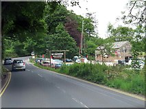 NY3816 : The A592 heading north by Steve Daniels