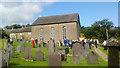 SN4759 : Graveyard and chapel, Neuaddlwyd by Robin Drayton