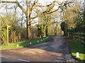 TL5903 : Farm driveway near Ongar by Malc McDonald