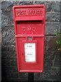 SH8751 : Elizabeth II post box, Pentrefoelas by Meirion
